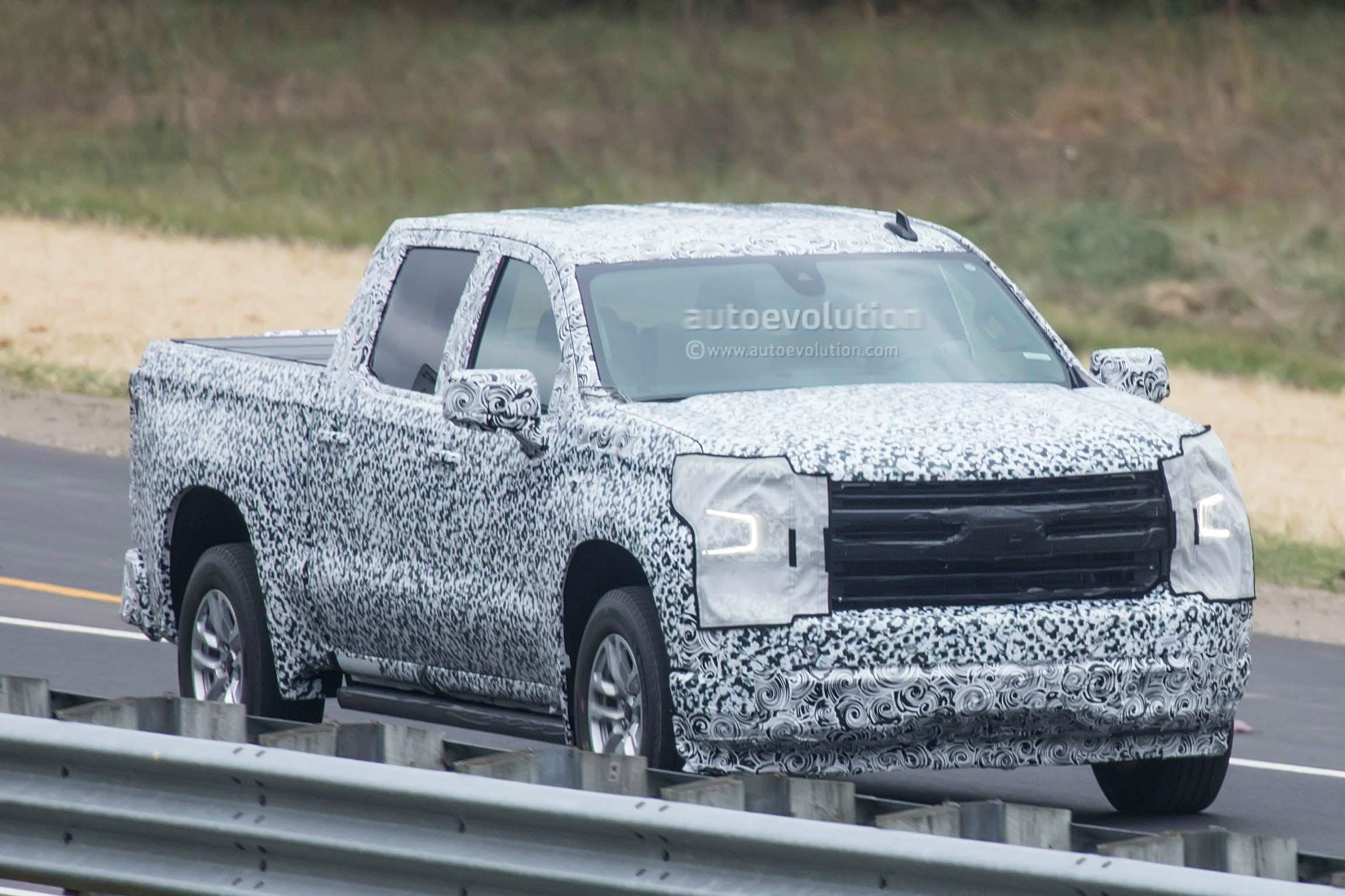 50 New 2019 Chevrolet Silverado Spy Photos Release with 2019 Chevrolet Silverado Spy Photos