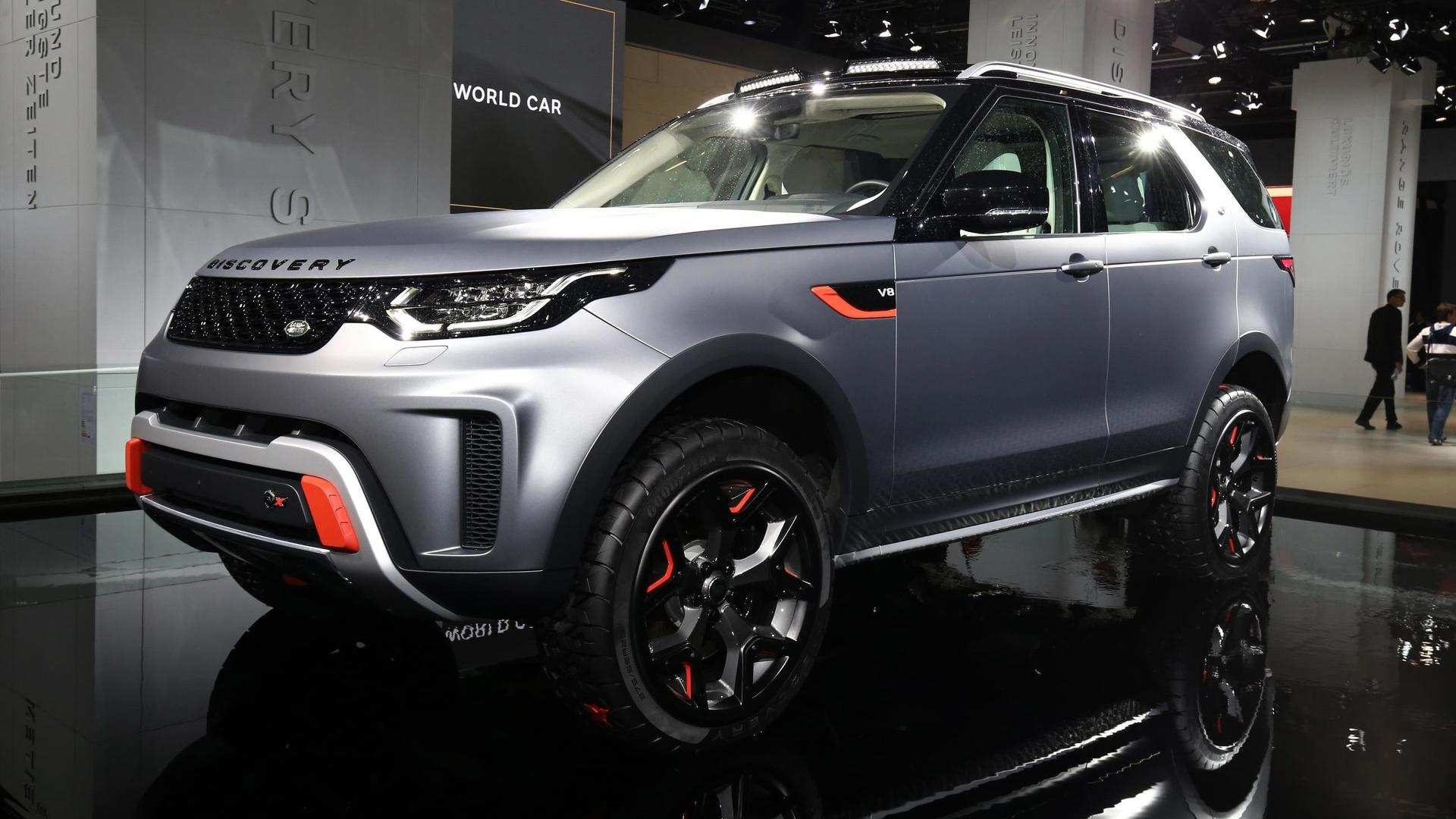 50 New 2019 Land Rover Discovery Svx Exterior for 2019 Land Rover Discovery Svx