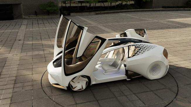 51 All New Toyota 2020 Vision Interior by Toyota 2020 Vision