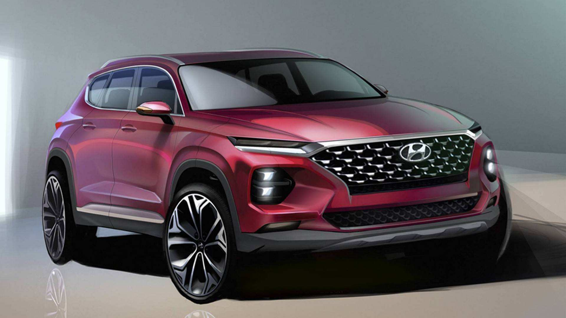 51 Concept of 2019 Hyundai Full Size Suv Exterior with 2019 Hyundai Full Size Suv