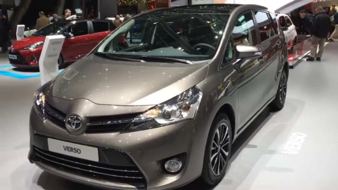 51 Concept of 2019 Toyota Verso History by 2019 Toyota Verso