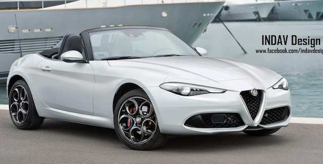 51 Concept of Alfa Spider 2020 Overview for Alfa Spider 2020