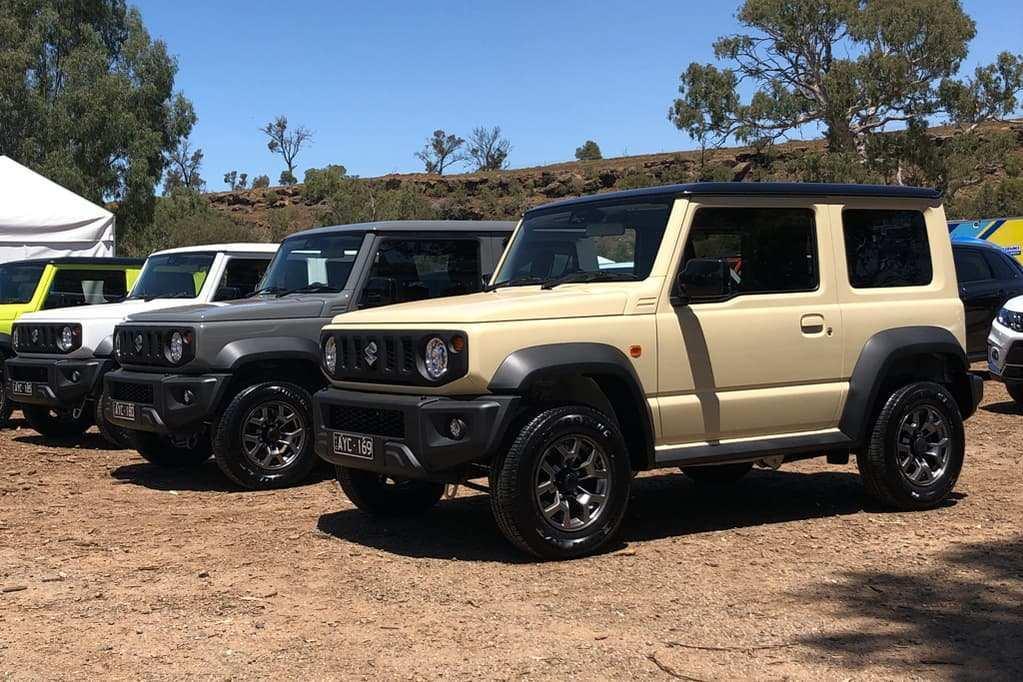 51 New 2019 Suzuki Jimny Reviews with 2019 Suzuki Jimny