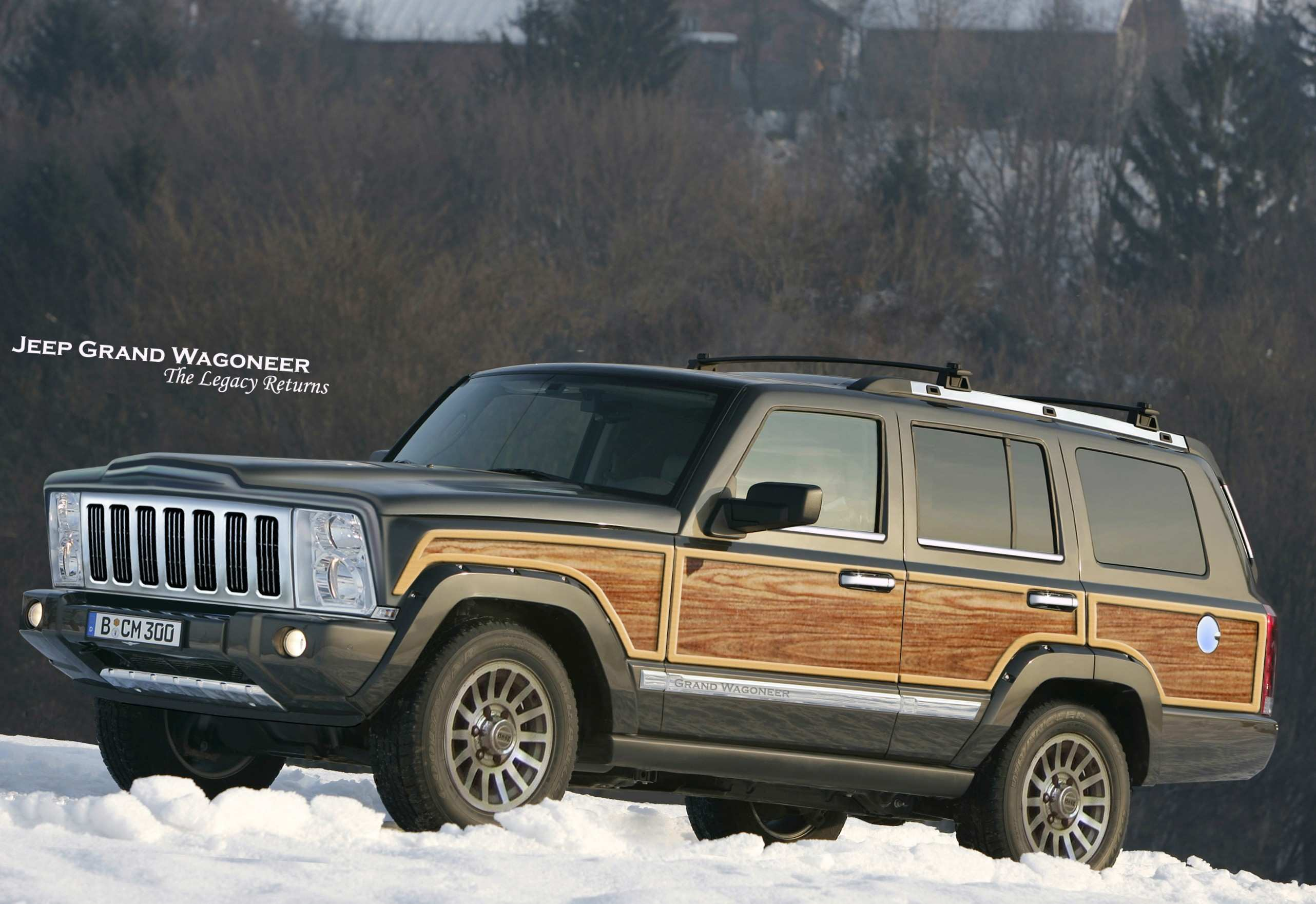 51 The 2019 Jeep Wagoneer Exterior and Interior by 2019 Jeep Wagoneer