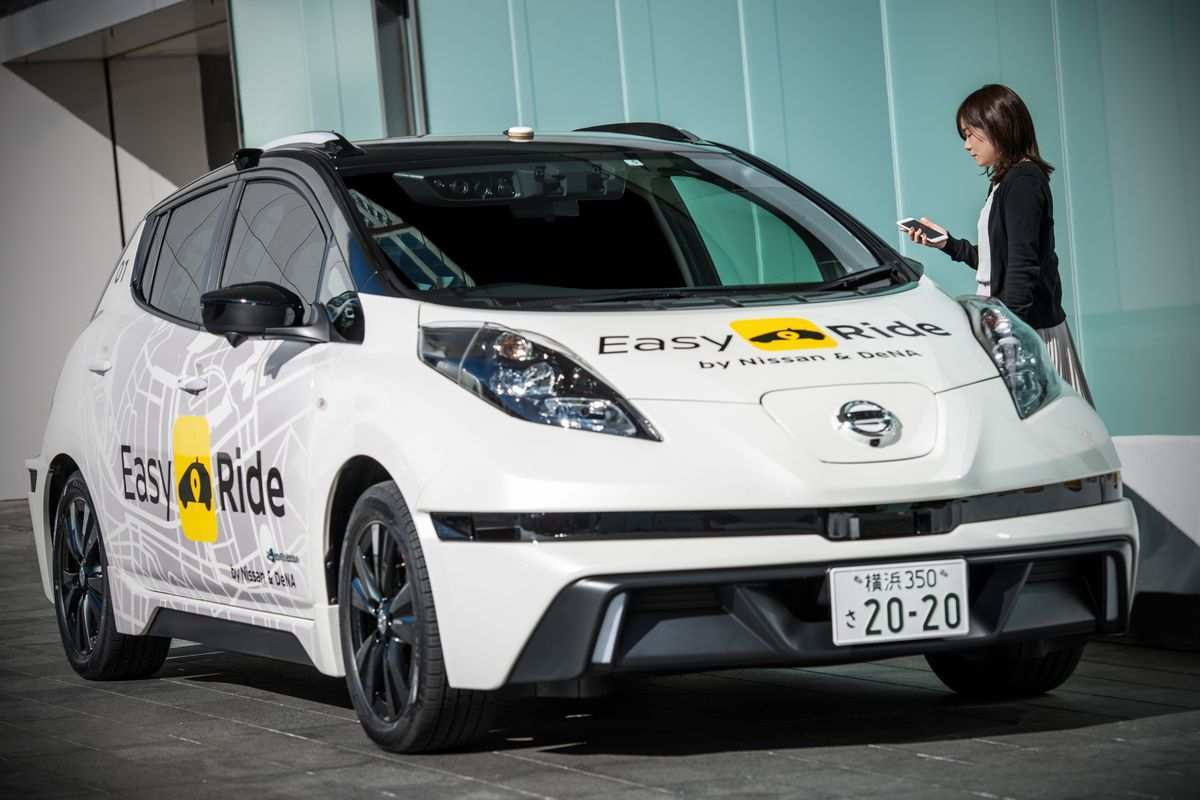 51 The Nissan Driverless 2020 Exterior by Nissan Driverless 2020