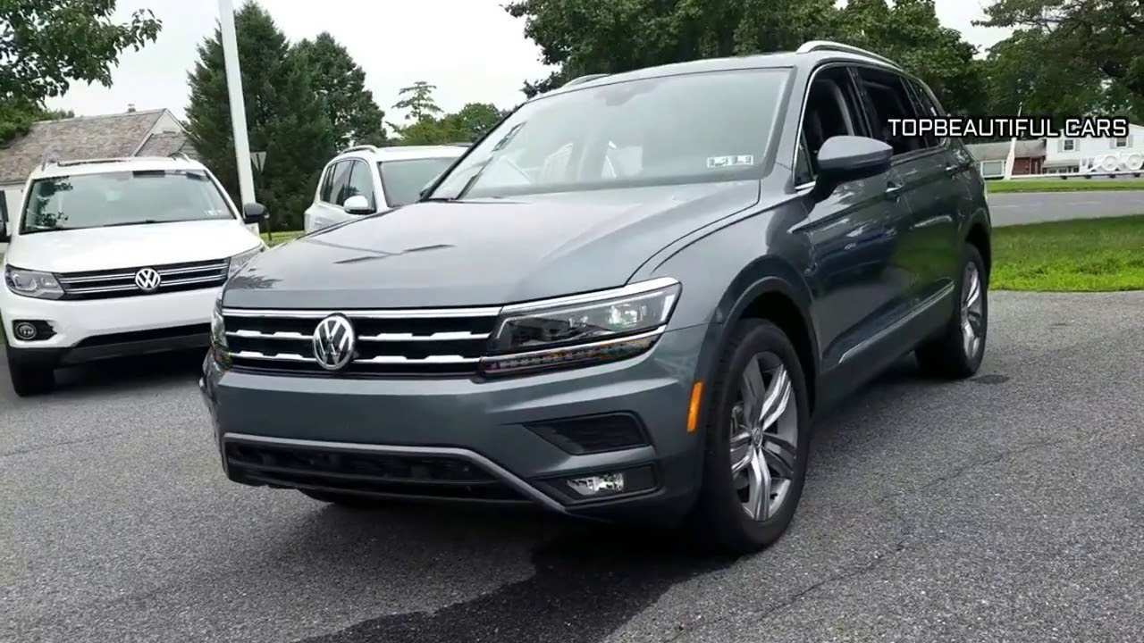 52 All New 2019 Volkswagen Tiguan Review Specs and Review by 2019 Volkswagen Tiguan Review