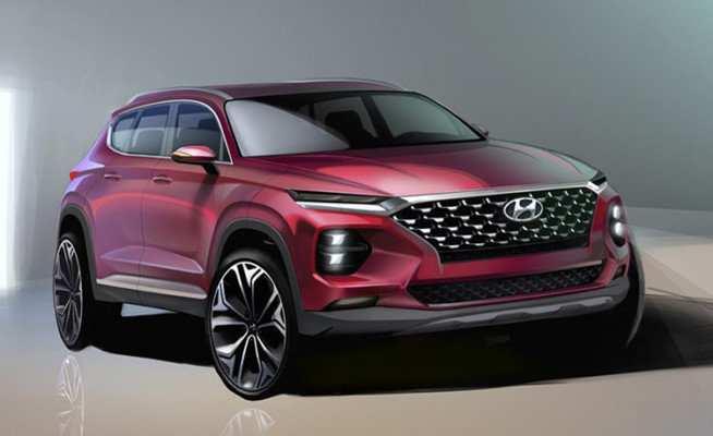52 Concept of 2019 Hyundai Santa Fe Pickup Specs and Review for 2019 Hyundai Santa Fe Pickup