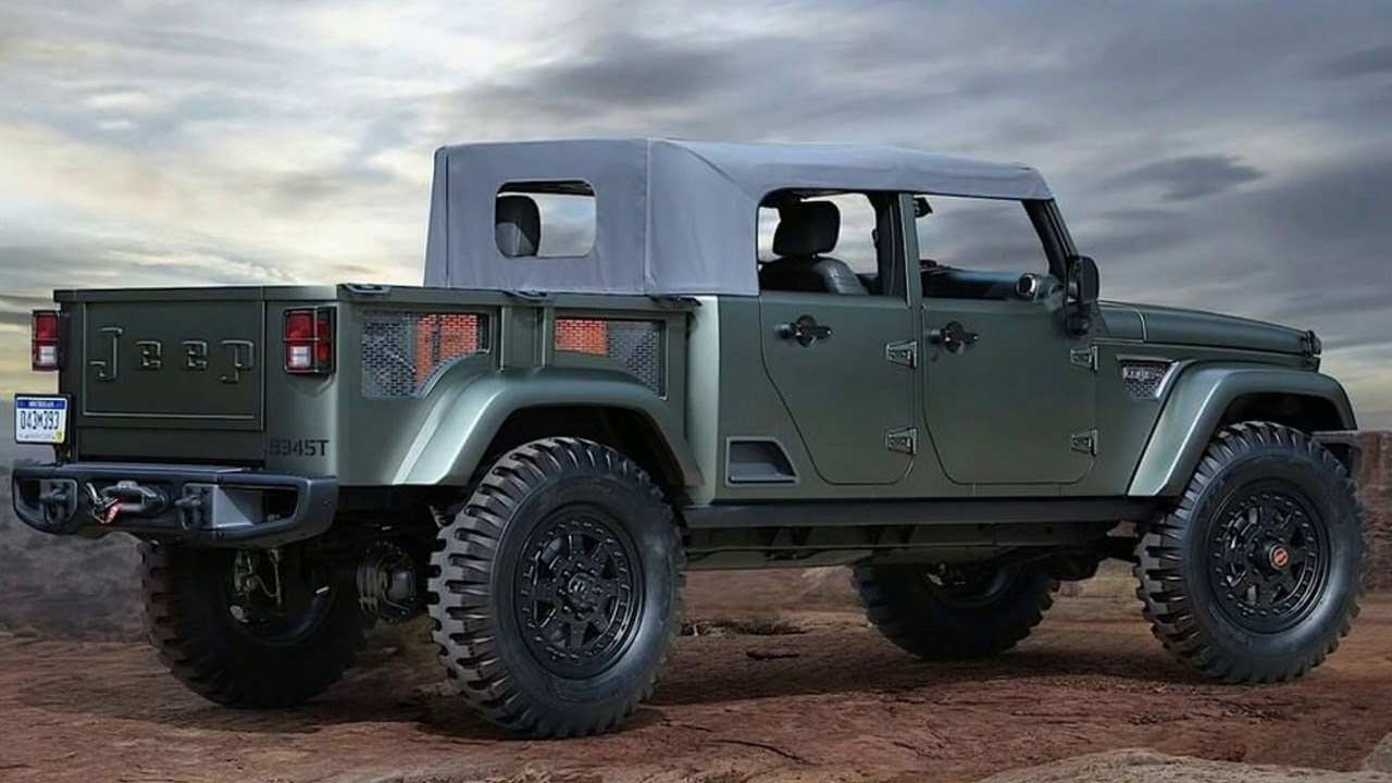52 New 2019 Jeep Jt Price Specs and Review with 2019 Jeep Jt Price