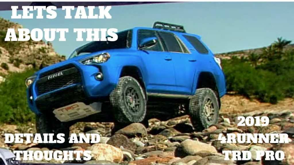 52 The 2019 Toyota 4Runner Trd Pro Review Pictures by 2019 Toyota 4Runner Trd Pro Review