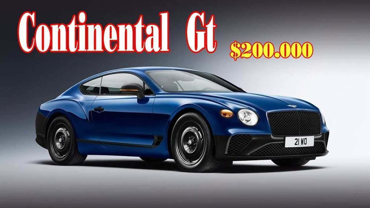 53 All New 2020 Bentley Gt Images by 2020 Bentley Gt