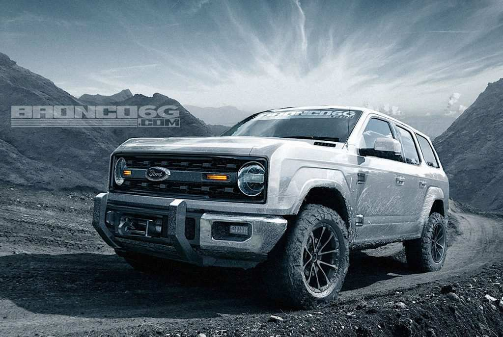 53 Concept of 2020 Ford Bronco Design Exterior for 2020 Ford Bronco Design