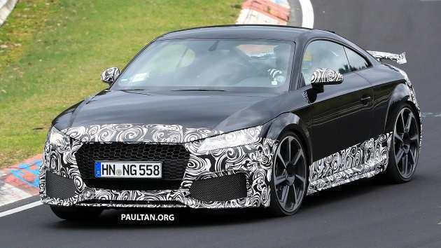 54 All New 2019 Audi Tt Rs Exterior and Interior by 2019 Audi Tt Rs