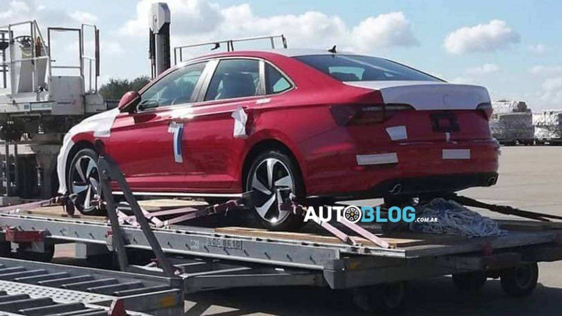 54 All New 2019 Vw Jetta Spy Shots Concept for 2019 Vw Jetta Spy Shots