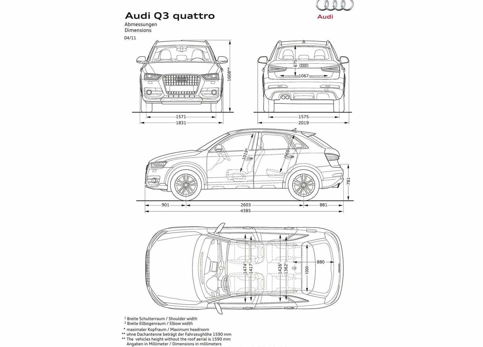 54 Best Review 2019 Audi Q3 Dimensions Pricing with 2019 Audi Q3 Dimensions