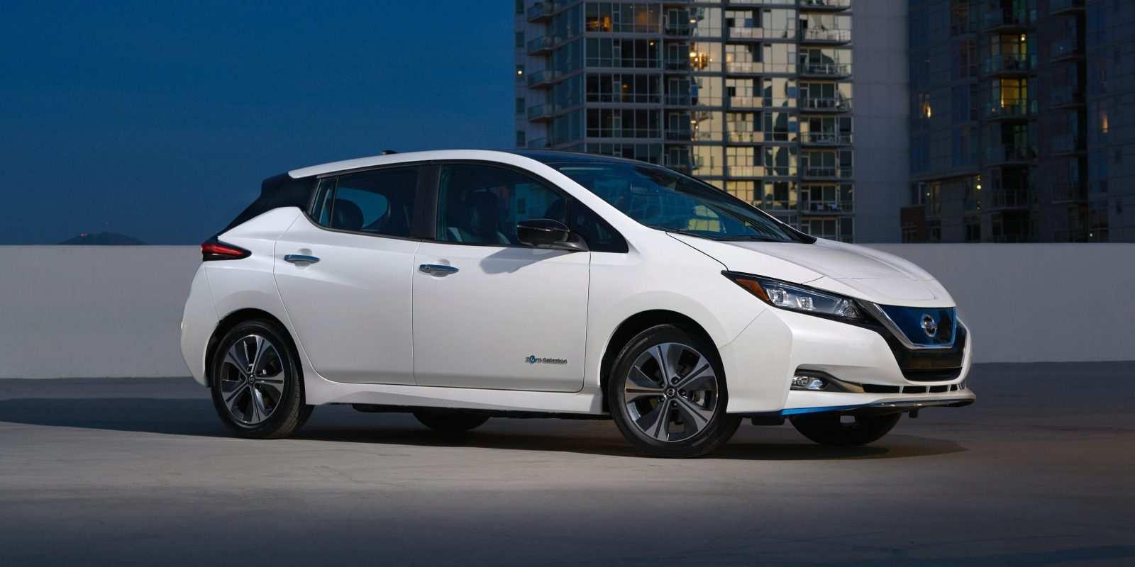54 Gallery of 2019 Nissan Leaf Spy Shoot for 2019 Nissan Leaf