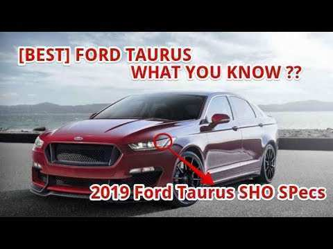 54 Great 2019 Ford Taurus Sho Exterior for 2019 Ford Taurus Sho