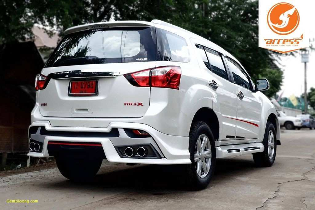 54 Great 2019 Isuzu Mu X Price and Review for 2019 Isuzu Mu X