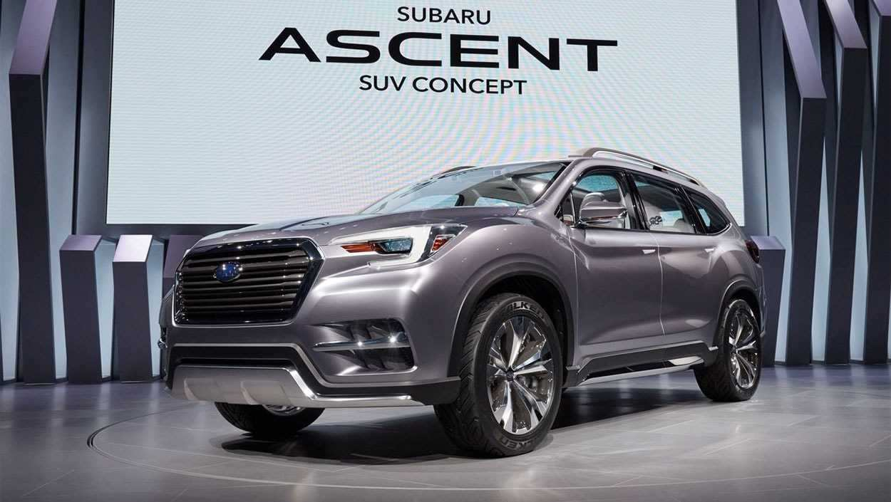 54 New 2019 Subaru 7 Seater Model by 2019 Subaru 7 Seater