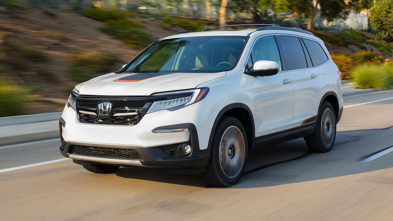 54 The 2019 Honda Pilot 5 Passenger Exterior and Interior for 2019 Honda Pilot 5 Passenger