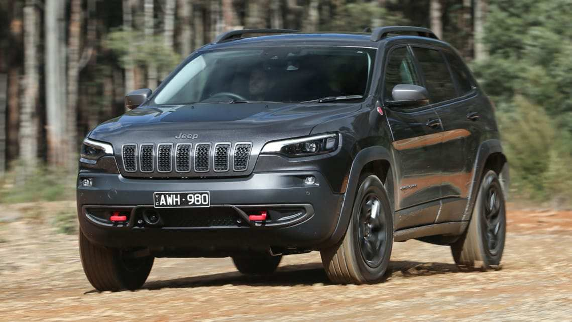 54 The 2019 Jeep Cherokee Kl Spy Shoot for 2019 Jeep Cherokee Kl