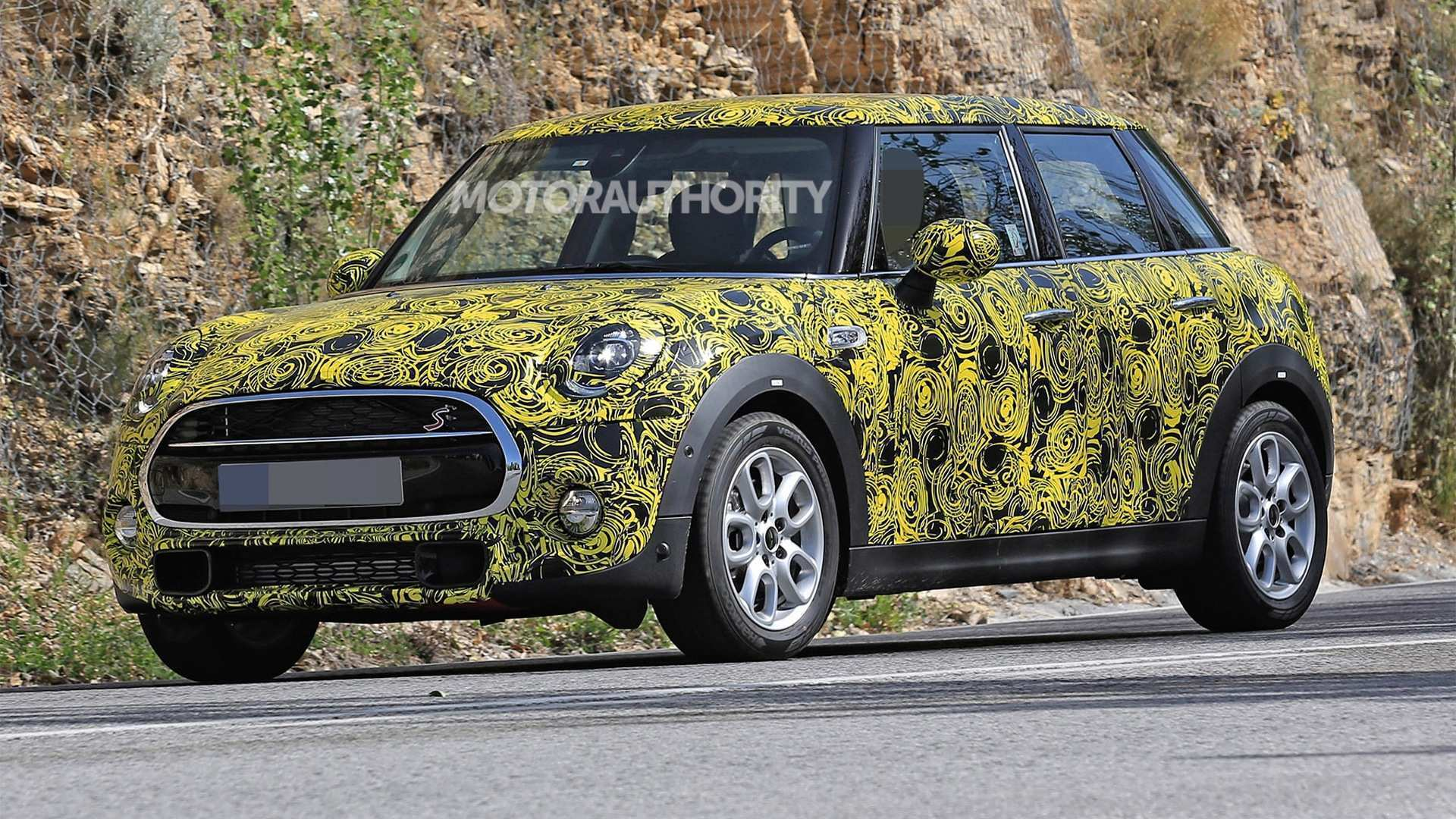 55 All New 2019 Mini Cooper Spy Shots Exterior with 2019 Mini Cooper Spy Shots