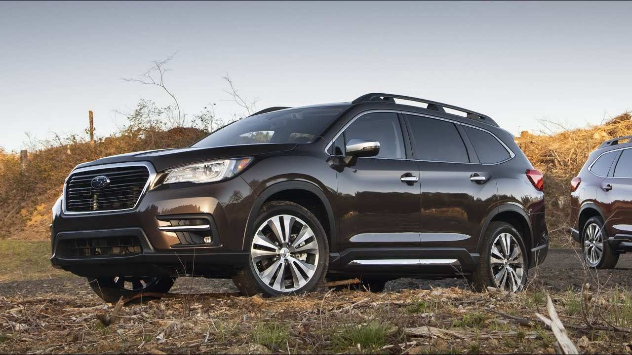 55 All New 2019 Subaru Ascent Video Redesign by 2019 Subaru Ascent Video