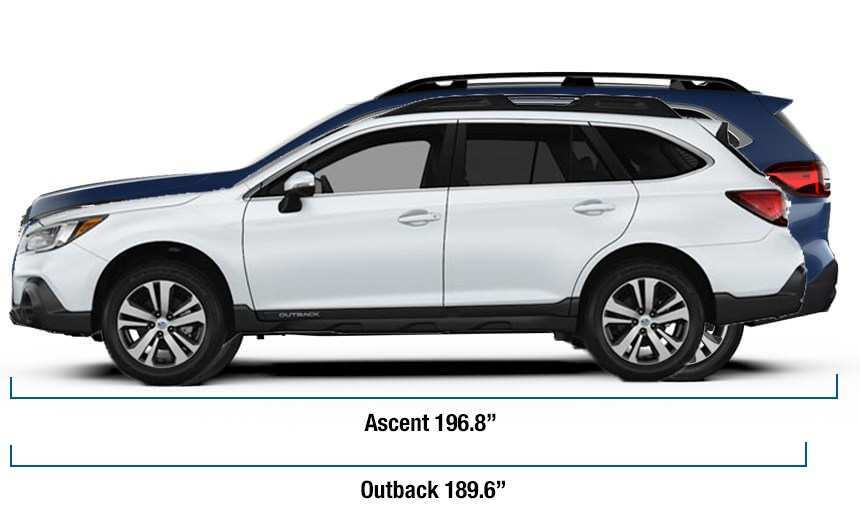 55 Best Review 2019 Subaru Ascent Dimensions Model for 2019 Subaru Ascent Dimensions