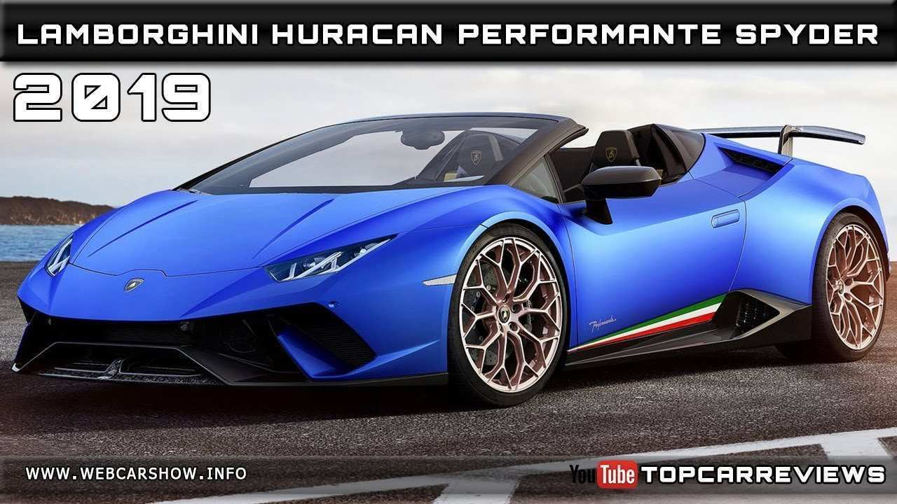 55 Concept of 2019 Lamborghini Performante Research New with 2019 Lamborghini Performante