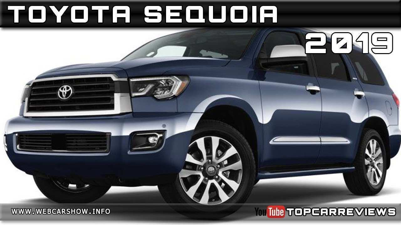55 Concept of 2019 Toyota Sequoia Review Interior by 2019 Toyota Sequoia Review