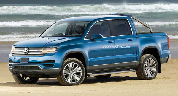 55 Concept of 2019 Volkswagen Amarok Redesign and Concept with 2019 Volkswagen Amarok
