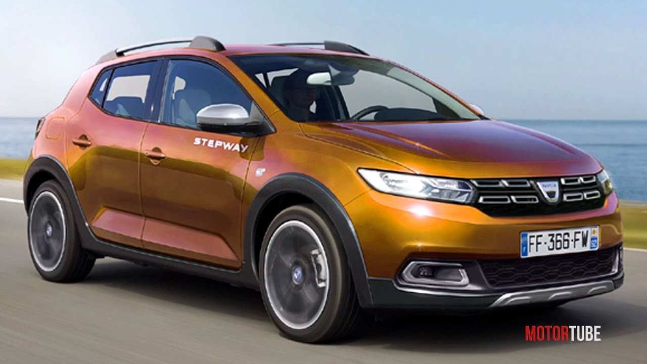 55 Concept of Dacia Sandero 2020 Overview with Dacia Sandero 2020