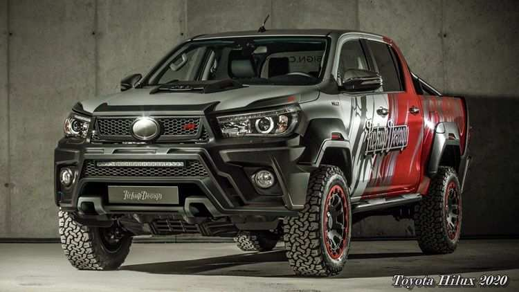 55 Gallery of Toyota Hilux 2020 Review for Toyota Hilux 2020