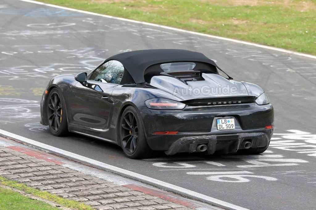 55 New 2019 Porsche Boxster Spyder Spy Shoot with 2019 Porsche Boxster Spyder