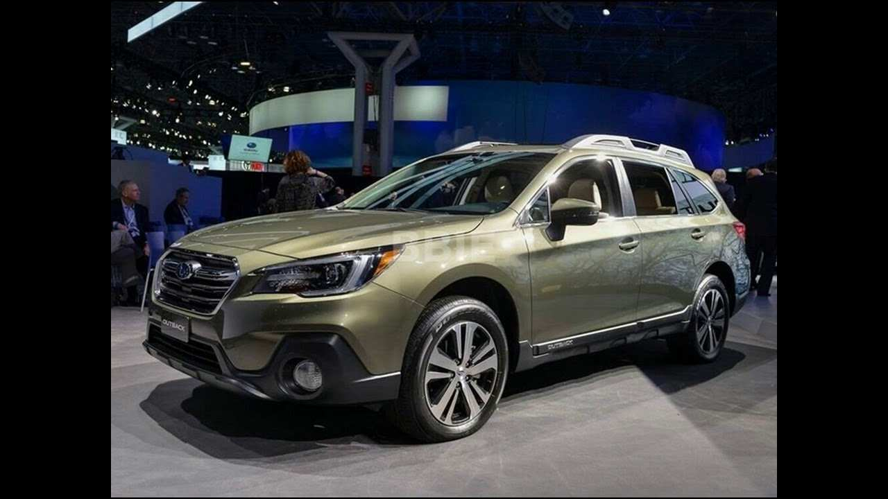 55 New 2019 Subaru Outback Redesign Rumors by 2019 Subaru Outback Redesign