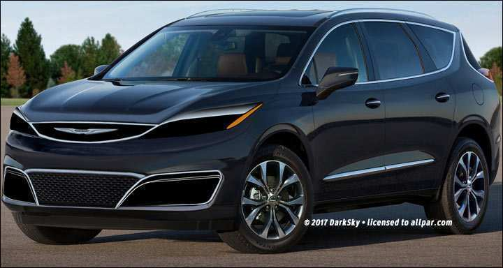 56 All New 2019 Chrysler Crossover Spy Shoot by 2019 Chrysler Crossover