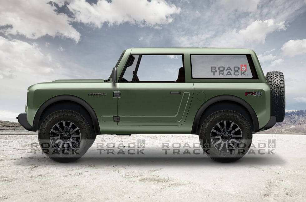 56 Gallery of 2019 Ford Bronco Images Interior for 2019 Ford Bronco Images