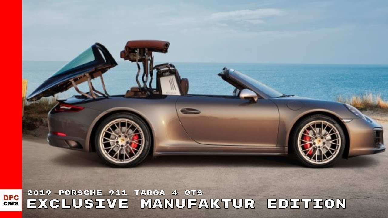 56 Gallery of 2019 Porsche Targa 4 Gts Redesign and Concept by 2019 Porsche Targa 4 Gts