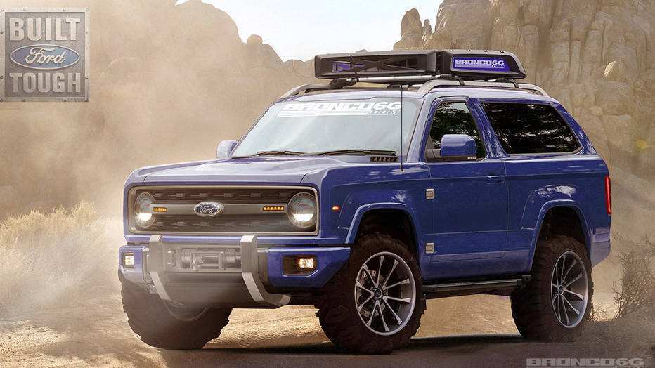 56 New 2020 Ford Bronco Look Redesign and Concept by 2020 Ford Bronco Look