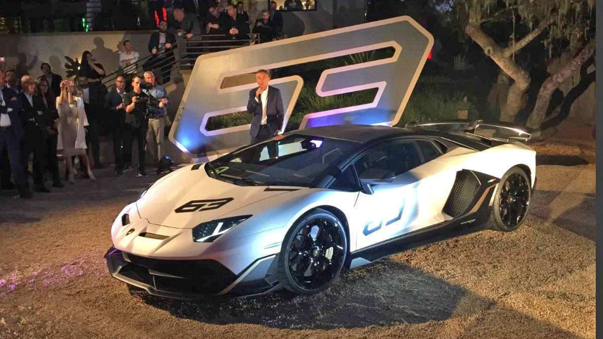 56 New 2020 Lamborghini Svj Redesign and Concept by 2020 Lamborghini Svj