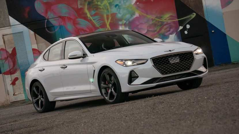 57 All New 2019 Genesis G70 Review Exterior for 2019 Genesis G70 Review