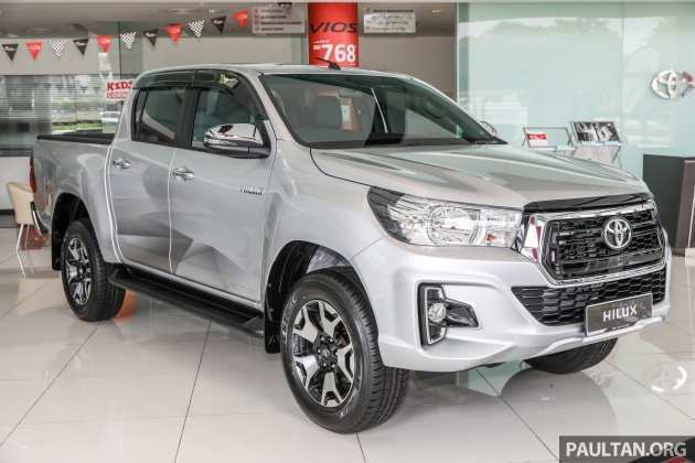 57 All New 2019 Toyota Hilux Facelift Photos with 2019 Toyota Hilux Facelift
