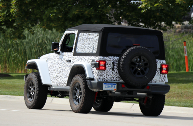57 Best Review 2020 Jeep Rubicon Spy Shoot with 2020 Jeep Rubicon