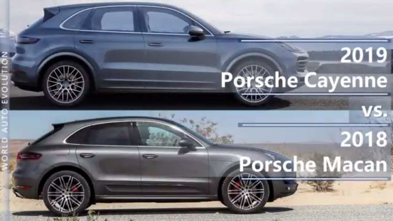57 New 2018 Vs 2019 Porsche Cayenne Exterior and Interior for 2018 Vs 2019 Porsche Cayenne