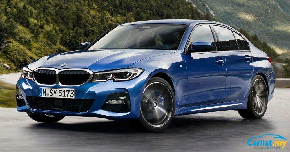 57 New 2019 Bmw G20 3 Series Redesign and Concept with 2019 Bmw G20 3 Series