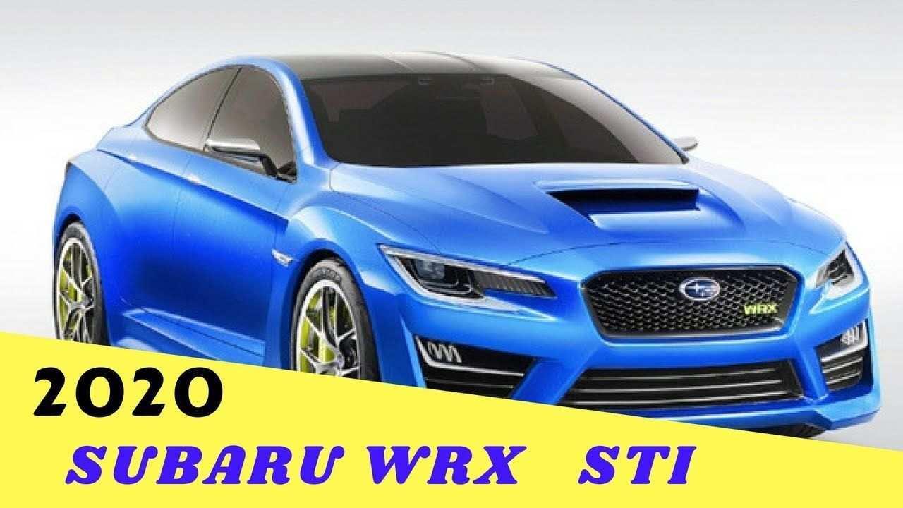 57 New 2020 Subaru Wrx Redesign Price by 2020 Subaru Wrx Redesign