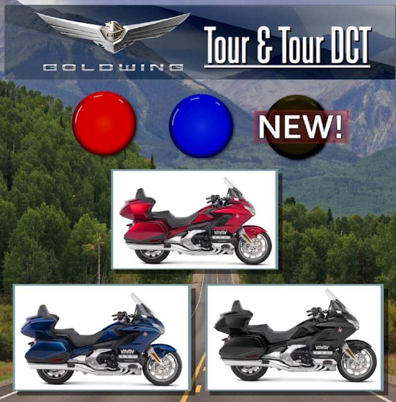 57 The 2019 Honda Goldwing Colors Release by 2019 Honda Goldwing Colors