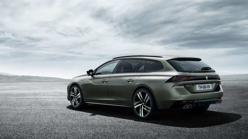 57 The 2019 Peugeot 508 Sw Spy Shoot for 2019 Peugeot 508 Sw