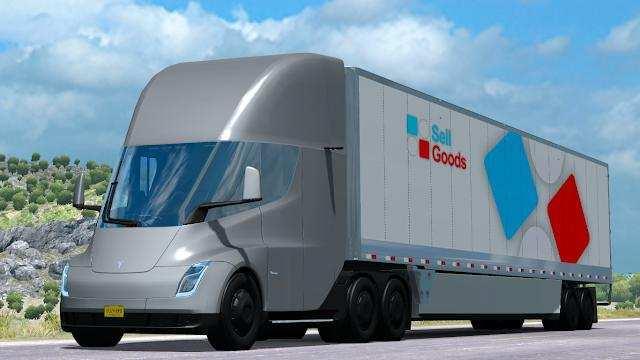 58 All New 2019 Tesla Semi Truck First Drive with 2019 Tesla Semi Truck