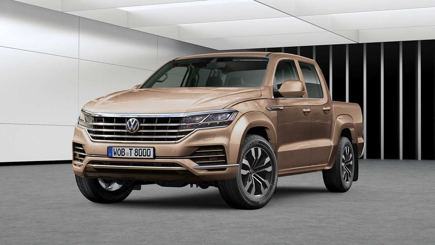 58 All New 2019 Volkswagen Amarok Spy Shoot for 2019 Volkswagen Amarok
