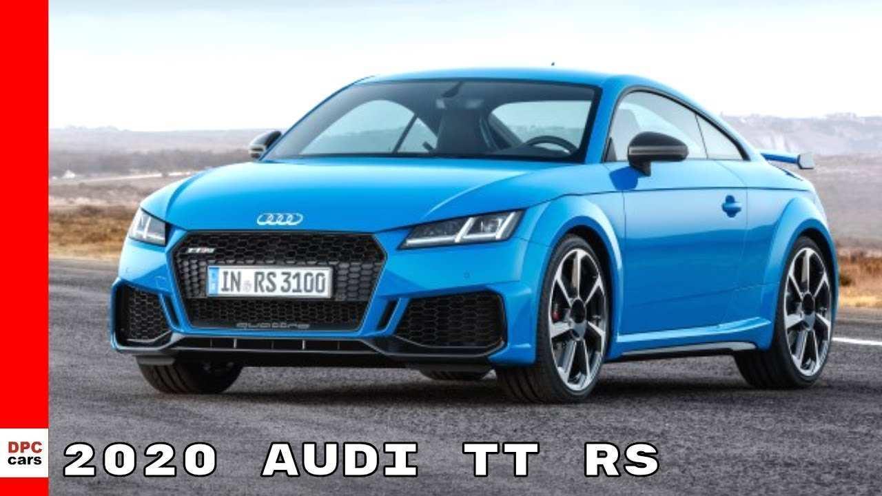 58 All New Audi Tt Rs 2020 Speed Test by Audi Tt Rs 2020